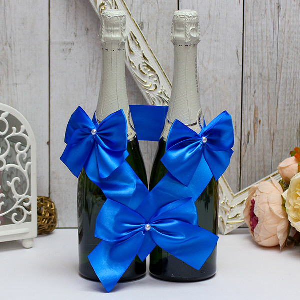 Декоративное украшение для бутылок Paradise (синий)