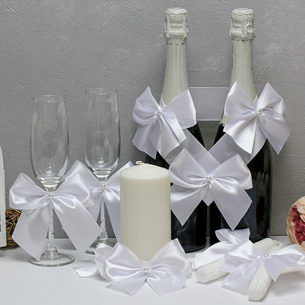 Набор свадебных аксессуаров Paradise (белый)