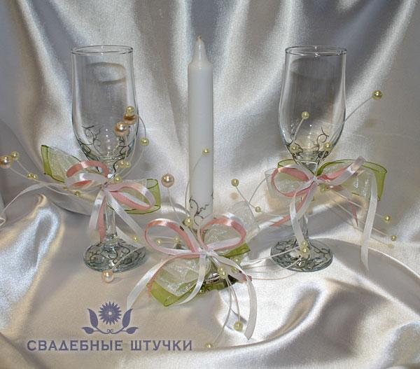"""Набор свадебных аксессуаров """"Брызги шампанского NEW"""""""