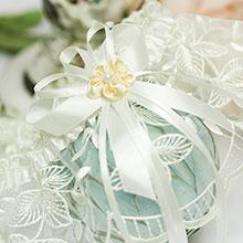 Подвязка для невесты Клаудия (айвори)