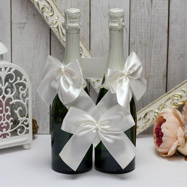 Декоративное украшение для бутылок Paradise (айвори)