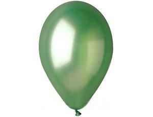 Шар круглый на свадьбу (13 см) (зеленый)