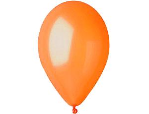Шар круглый на свадьбу (13 см) (оранжевый)