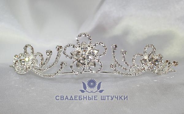 """Диадема свадебная """"Римские каникулы"""""""