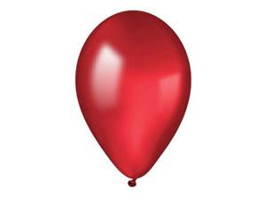 Шар круглый на свадьбу (25-30 см) (красный)