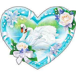 Лебеди на машину к свадьбе