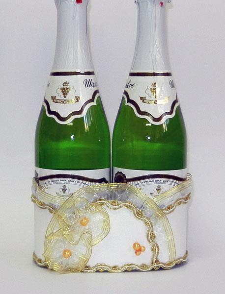 Подставка на свадьбу под шампанское своими руками