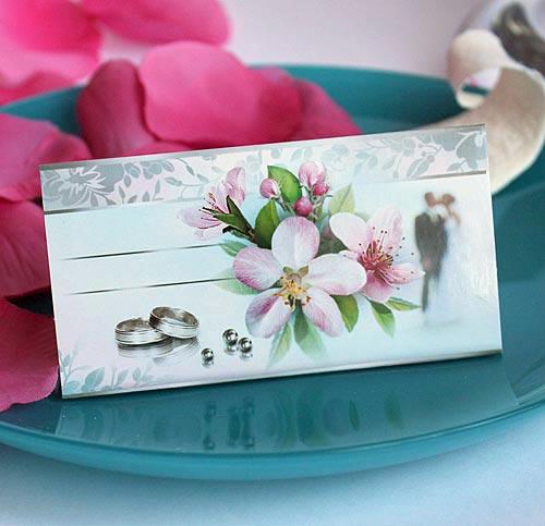 """Рассадочная карточка """"Орхидея"""""""