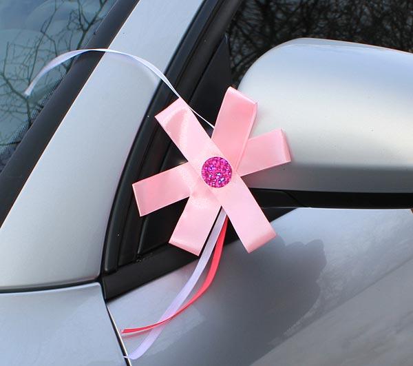 Банты для украшения машины своими руками