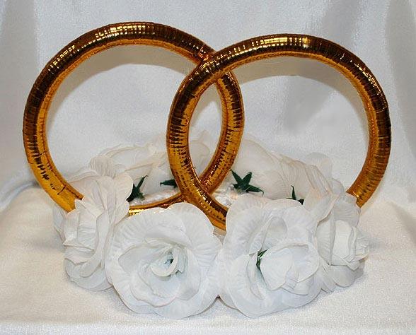 Свадебные кольца украшения своими руками