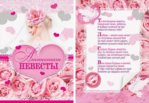 Поздравления на свадьбу жениху и невесте от сестры жениха