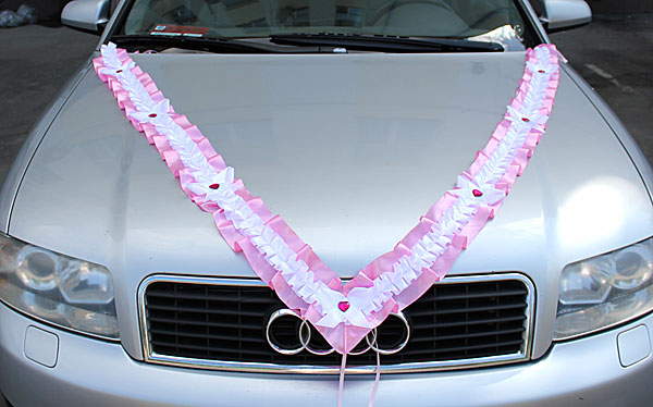 Лента на свадебную машину своими руками