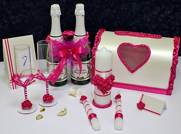 Набор аксессуаров свадебных