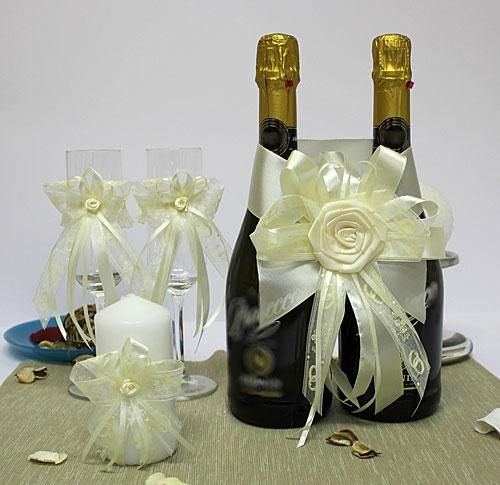 """Набор украшений для свадебных аксессуаров """"Английский шарм"""" (айв"""