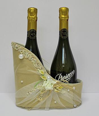 """Подставка для шампанского """"Свадьба"""""""