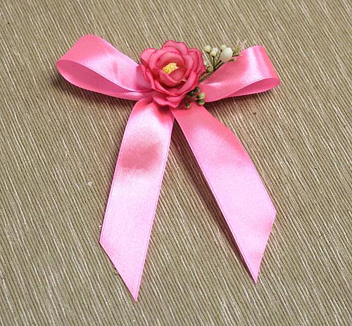 Брошки для свидетелей из цветов Оника (розовый)
