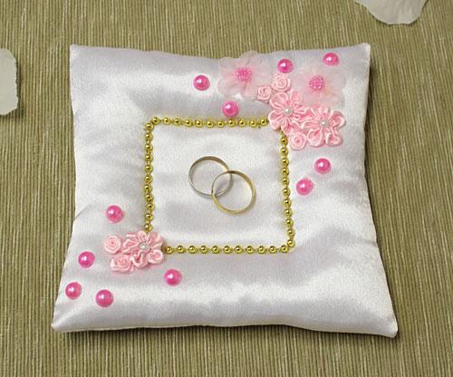 Подушечка для колец Сады Франции (розовый)