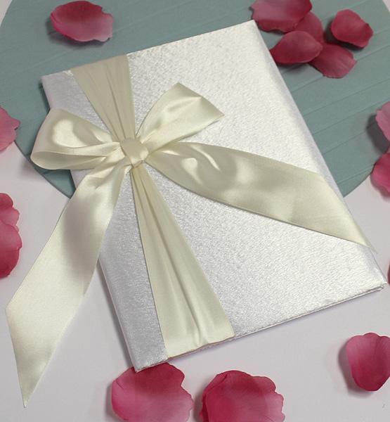 Свадебная папка о браке Paradise для свидетельства (формат А4) (айвори)