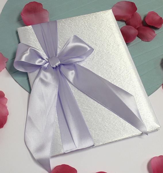 Свадебная папка о браке Paradise для свидетельства (формат А4) (светло-сиреневый)