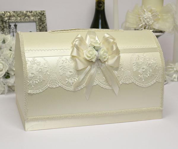 Семейный банк на свадьбу Розанна (большой) (айвори)