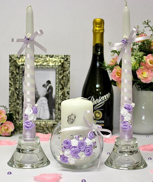 Подсвечники для свадьбы