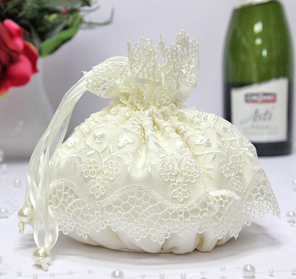 """Свадебная сумочка для невесты """"Сказка"""" (айвори)"""
