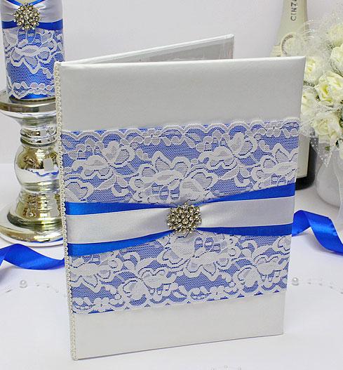 """Папка о браке """"Афродита"""" (синий) для свидетельства (формат А4)"""