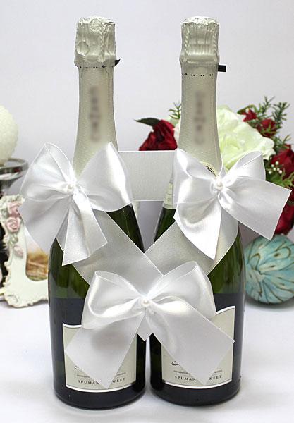 Декоративное украшение для бутылок Paradise (белый)