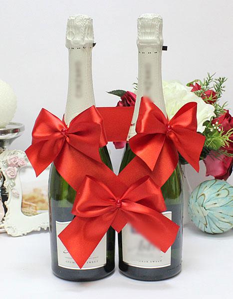Декоративное украшение для бутылок Paradise (красный)