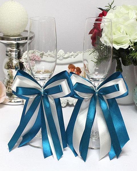 Ленты на свадебные своими руками