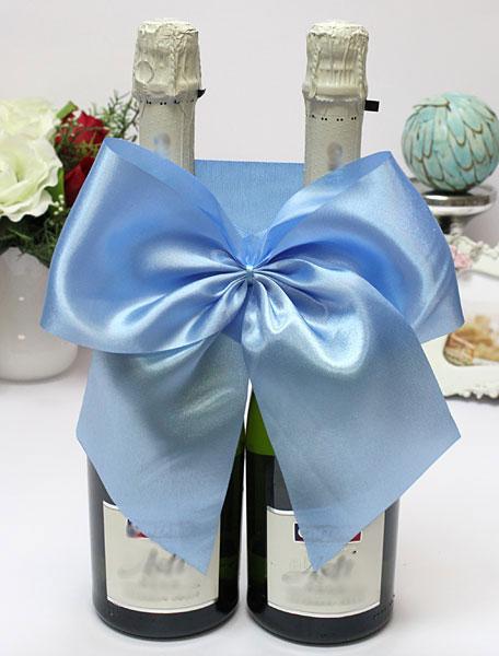 Декоративное украшение для шампанского Классика (голубой)