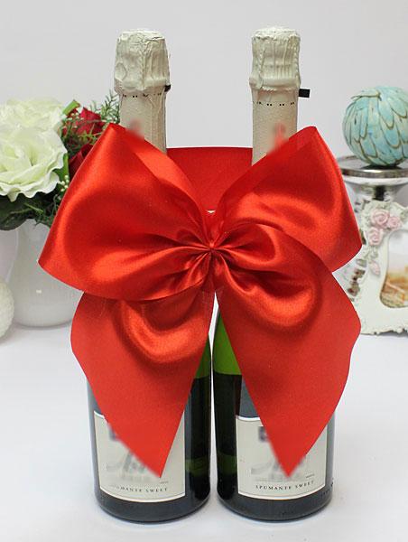 Декоративное украшение для шампанского Классика (красный)