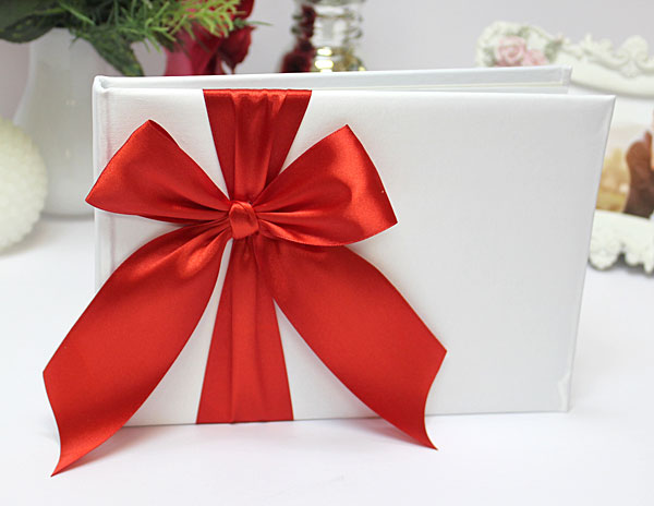 Свадебная книга пожеланий Paradise (24 листа) (красный)