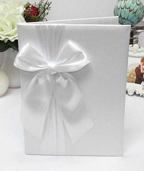 Свадебная папка о браке Paradise для свидетельства (формат А4) (белый)