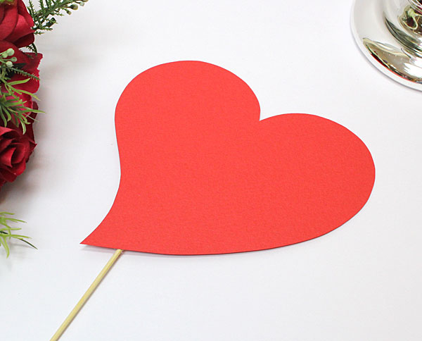 """Табличка для фотосессии """"Сердце"""" (красный)"""
