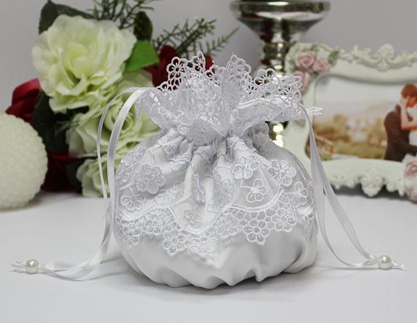 """Свадебная сумочка для невесты """"Сказка"""" (белая)"""