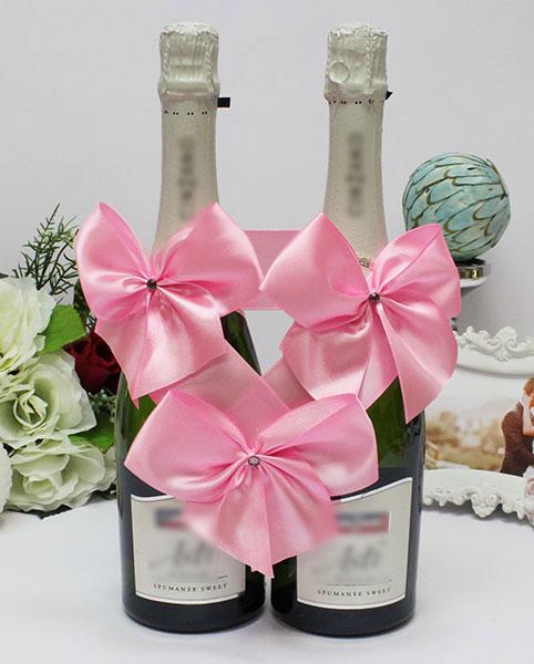 Декоративное украшение для бутылок Paradise (розовый)