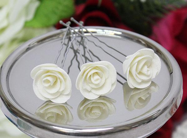 Свадебная шпилька Соблазн (айвори)
