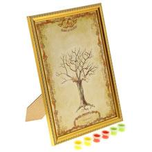 """Дерево пожеланий в рамке """"Совет да любовь"""""""