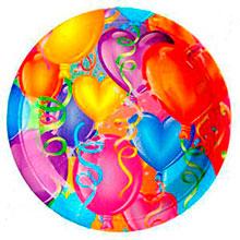 """Упаковка тарелок """"Настроение праздника"""" (6 шт, 23 см)"""