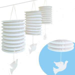 """Гирлянда с подвесными фонариками """"Голуби"""" (3,6 м)"""