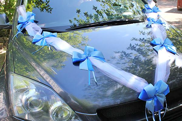 Свадебное авто ленты