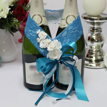 """Декоративное украшение для бутылок """"Летний бриз"""""""