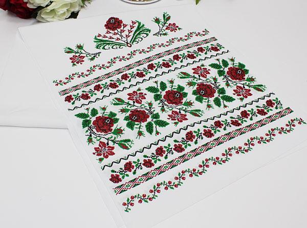 """Свадебный рушник """"Розы"""""""