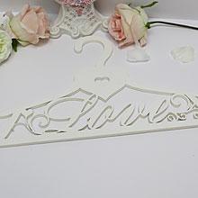 """Вешалка для свадебного платья """"Love"""""""