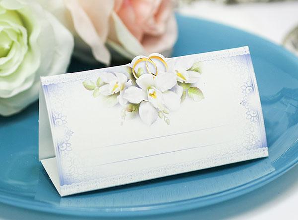 """Рассадочная карточка """"Цветочное настроение"""""""