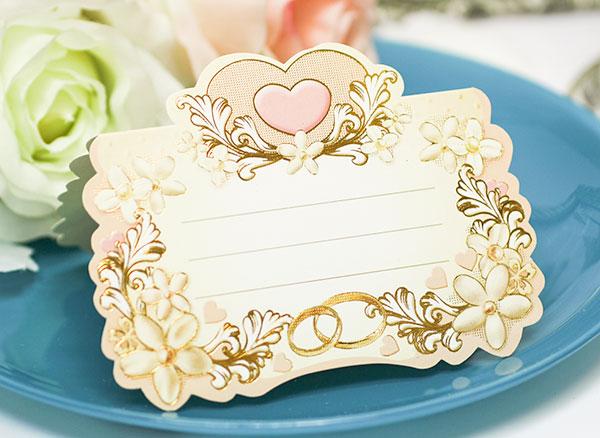 """Рассадочные  карточки для гостей на свадьбу  """"Цветочная"""""""