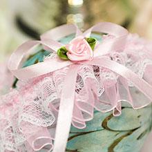 """Подвязка для невесты на свадьбу """"Принцесса"""""""