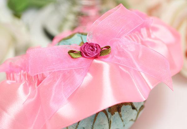 """Свадебная подвязка для невесты на ногу """"Идеал"""""""