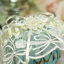 Свадебная подвязка Te Amo (айвори)